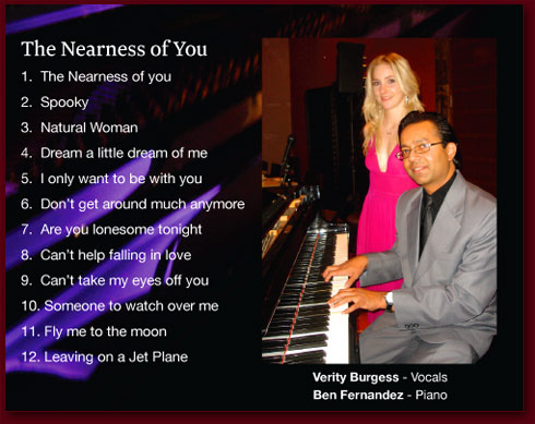 The Nearness of you - Ben Fernandez and Verity